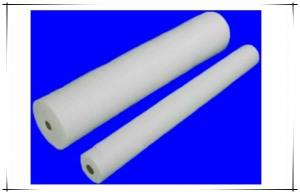 Hot water soluble nonwoven