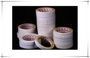 Embroidered double-sided tape